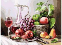 - Живопись на холсте 30*40 см. Натюрморт с фруктами (129-AS) обложка книги