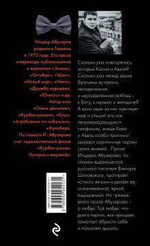 Обложка сзади Концерт для скрипки и ножа в двух частях Ильдар Абузяров