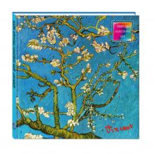 - Блокнот для художественных идей. Ван Гог. Цветущие ветки миндаля (твёрдый переплёт, альбомный формат, 96 стр., 255х255 мм) (Арте) обложка книги