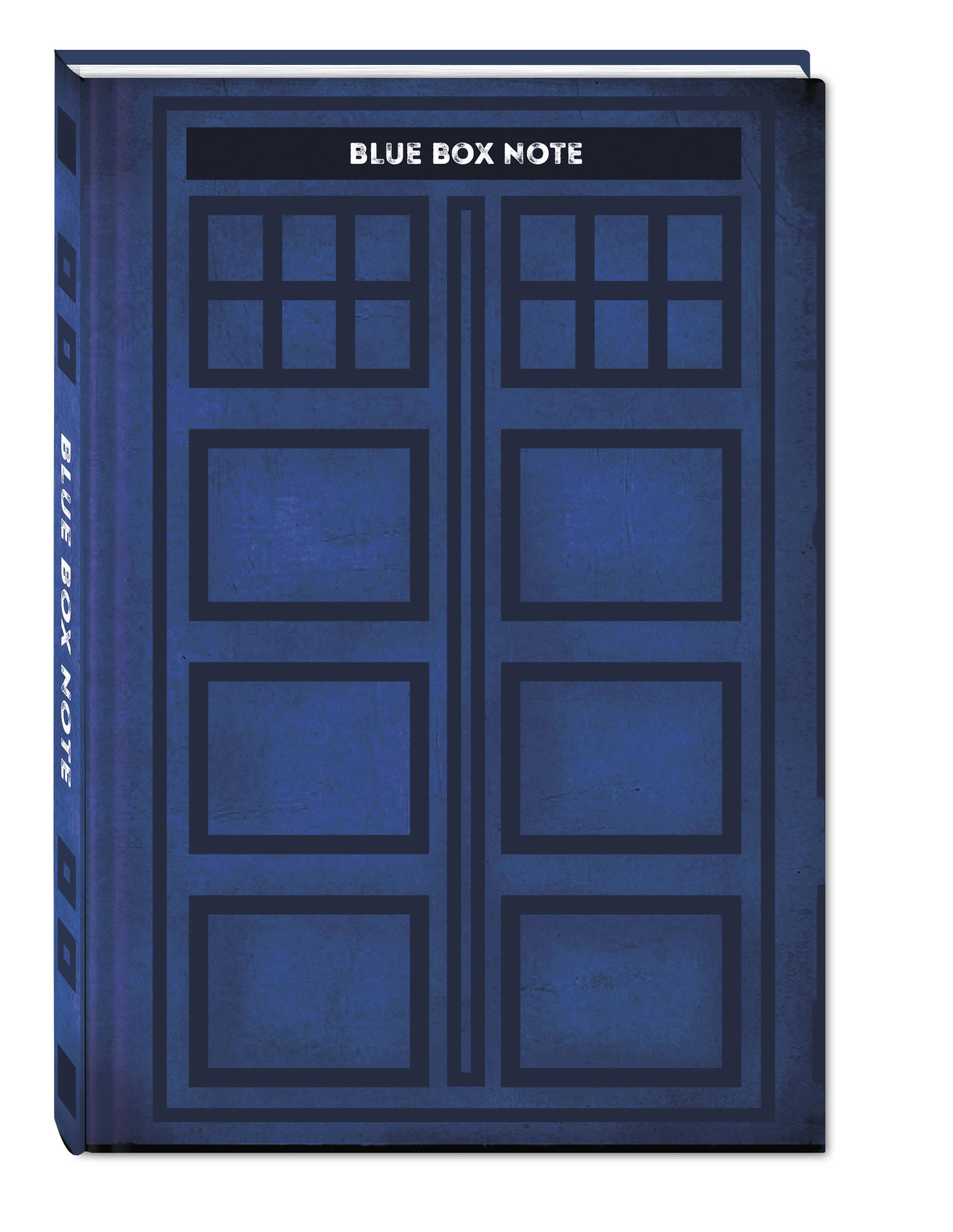 Blue Box Note. Космический блокнот для путешественников во времени (твердый переплет) от book24.ru