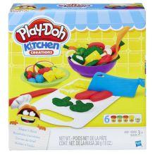 PLAY-DOH - Play-Doh Игровой Набор Приготовь и Нареж На Дольки (B9012) обложка книги