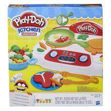 PLAY-DOH - Play-Doh Игровой Набор Кухонная плита (B9014) обложка книги
