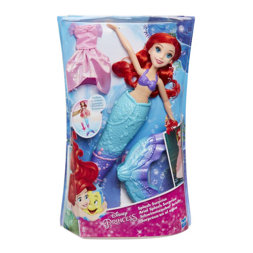 DISNEY PRINCESS Принцесса Ариель, превращающаяся  из Русалки в девушку (B9145)