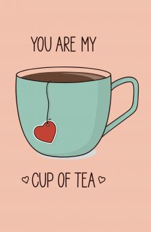 You are my cup of tea 2 оф. (А5)