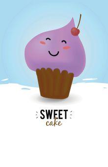 Обложка Sweet cake (А5)