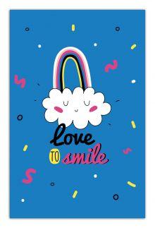 - Love to smile (А5) обложка книги