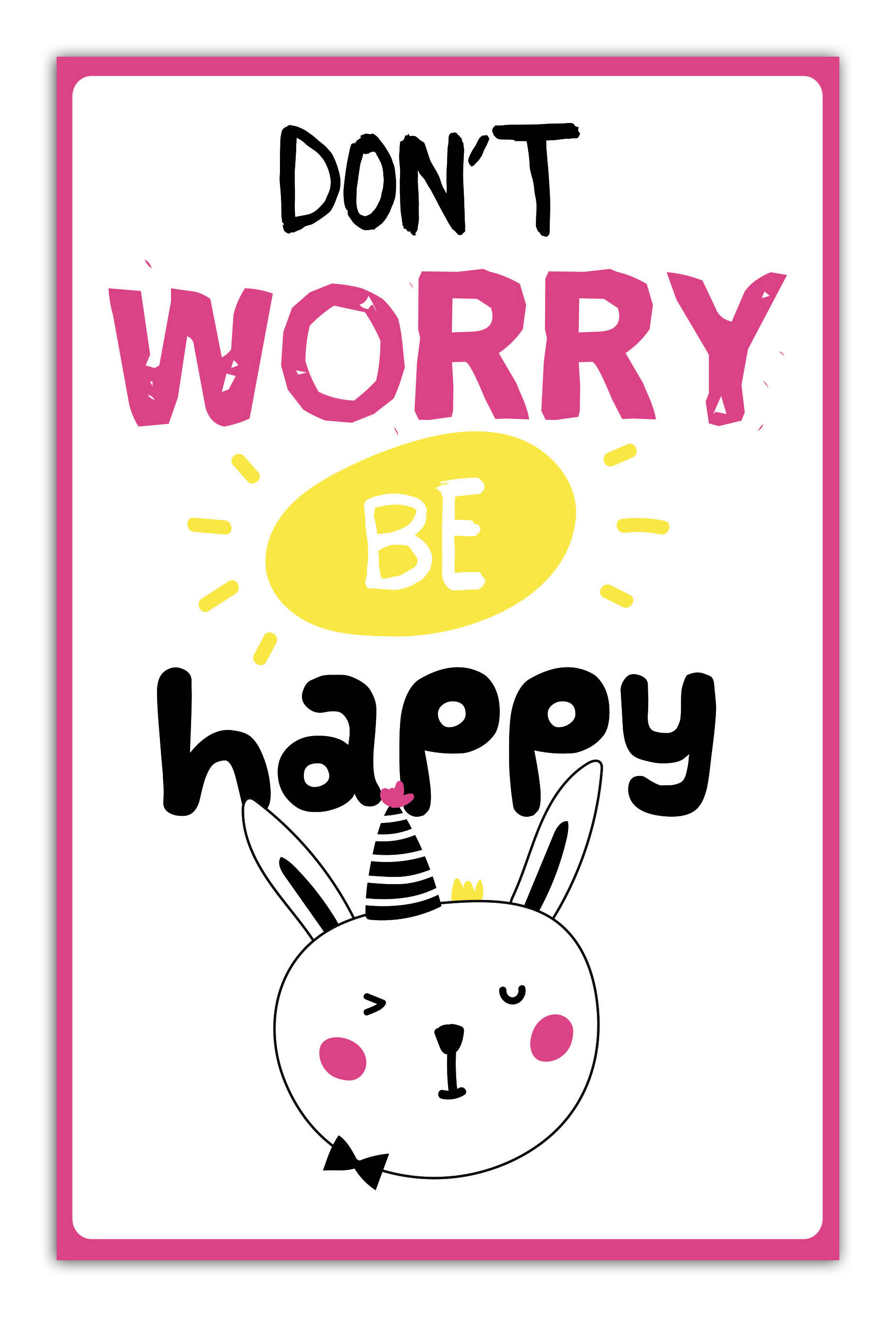 Don't worry be happy (А5)