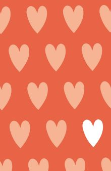 Обложка Hearts (А5)