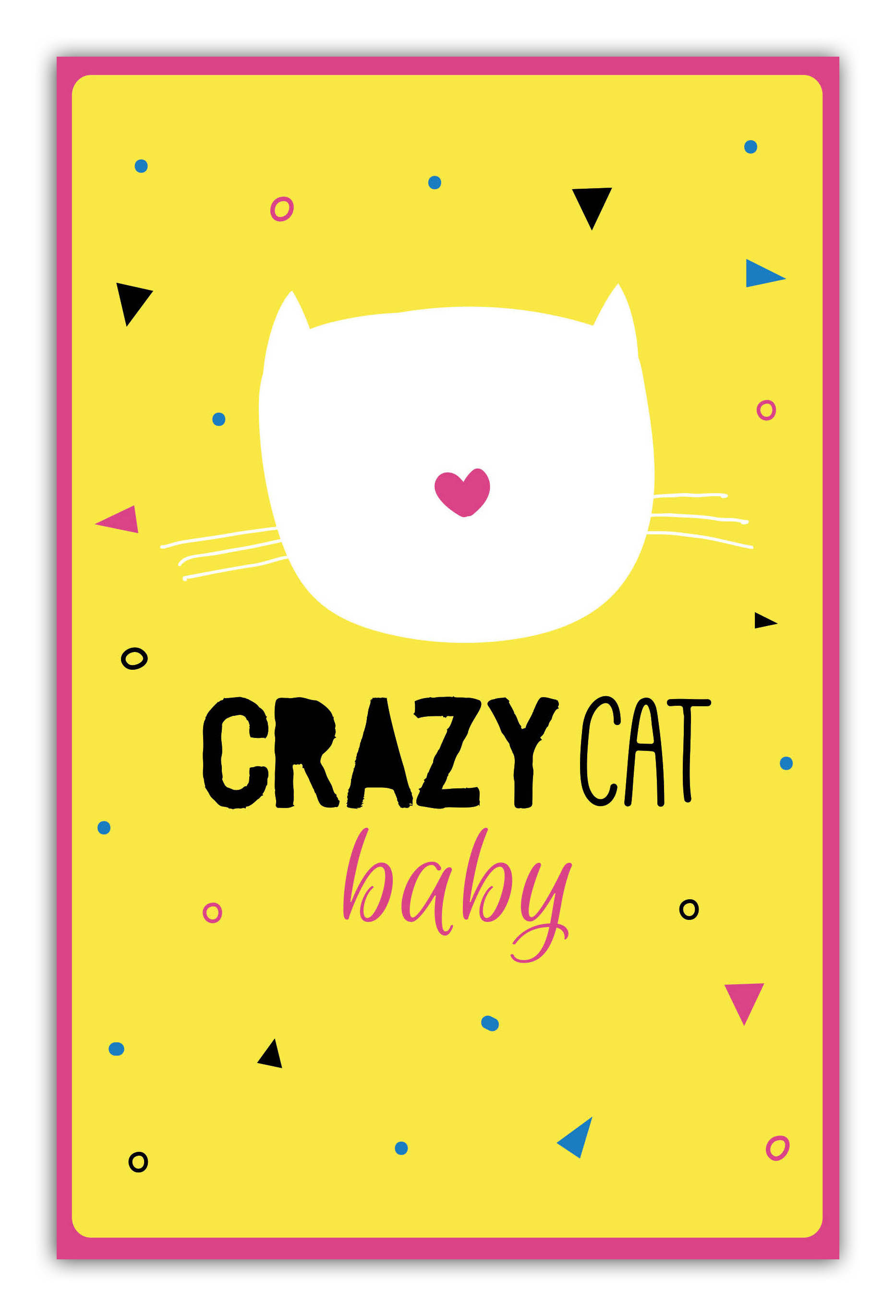 Crazy cat baby (А5)