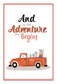 - And so the adventure begins (А5) обложка книги