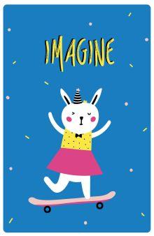 Обложка Imagine (А5)