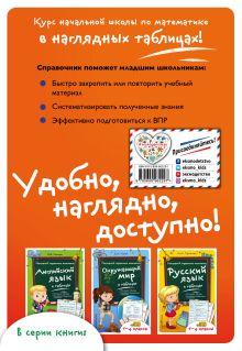 Обложка сзади Математика в таблицах И.П. Бачинская