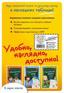 Обложка сзади Русский язык в таблицах И.А. Таровитая