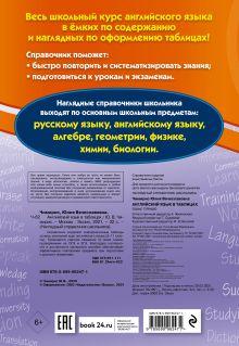 Обложка сзади Английский язык в таблицах Ю. В. Чимирис