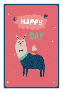 - Happy day (А5) обложка книги