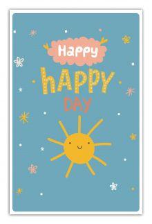 - Happy-happy day (А5) обложка книги