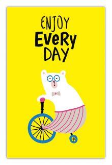 - Enjoy every day (yellow) (А5) обложка книги