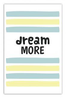 - Dream more (А5) обложка книги