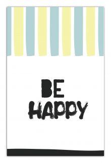 - Be happy (А5) обложка книги