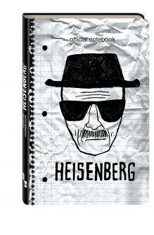 - Блокнот Breaking Bad (Мистер Хайзенберг) обложка книги