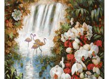 - Живопись на холсте 40*50 см. Райский сад (188-АВ) обложка книги