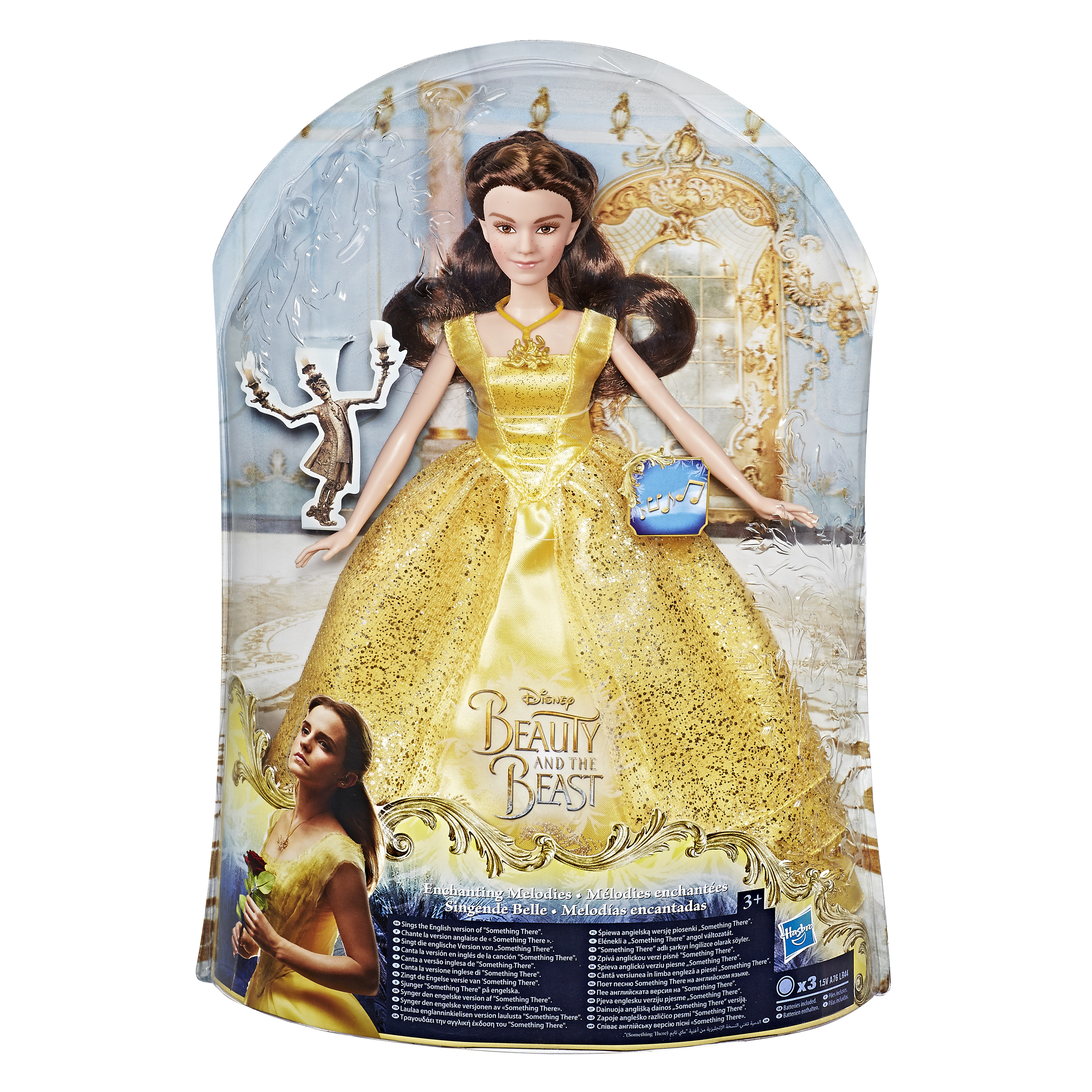 DISNEY BEAUTY & THE BEAST Поющая Бэлль (B9165)