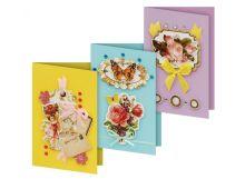 Наборы для скрапбукинга. Набор для создания 3-х открыток Флирт (116-SB ) - Наборы для скрапбукинга. Набор для создания 3-х открыток Флирт (116-SB ) обложка книги