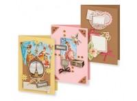 Наборы для скрапбукинга. Набор для создания 3-х открыток Большое путешествие (122-SB) - Наборы для скрапбукинга. Набор для создания 3-х открыток Большое путешествие (122-SB) обложка книги