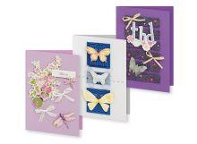 Наборы для скрапбукинга. Набор для создания 3-х открыток Сюита (124-SB) - Наборы для скрапбукинга. Набор для создания 3-х открыток Сюита (124-SB) обложка книги