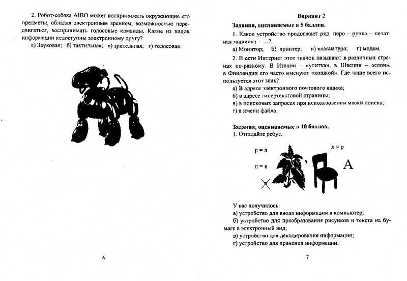 Предметные олимпиады. 5-11 классы. Информатика