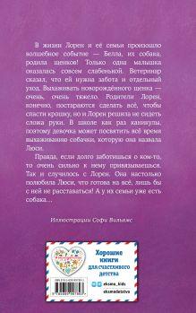 Обложка сзади Щенок Люси, или Переполох на каникулах (выпуск 32) Холли Вебб