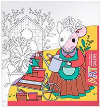 АРТ. Основа для творчества малая. Мышка в саду