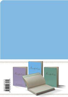Обложка сзади Mindfulness. Утренние страницы (васильковый) (скругленные углы) (Арте)