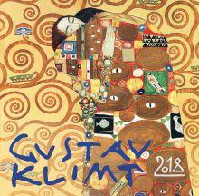 Обложка Густав Климт. Календарь настенный на 2018 год