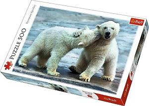 Пазл 500 дет.- Белые медведи