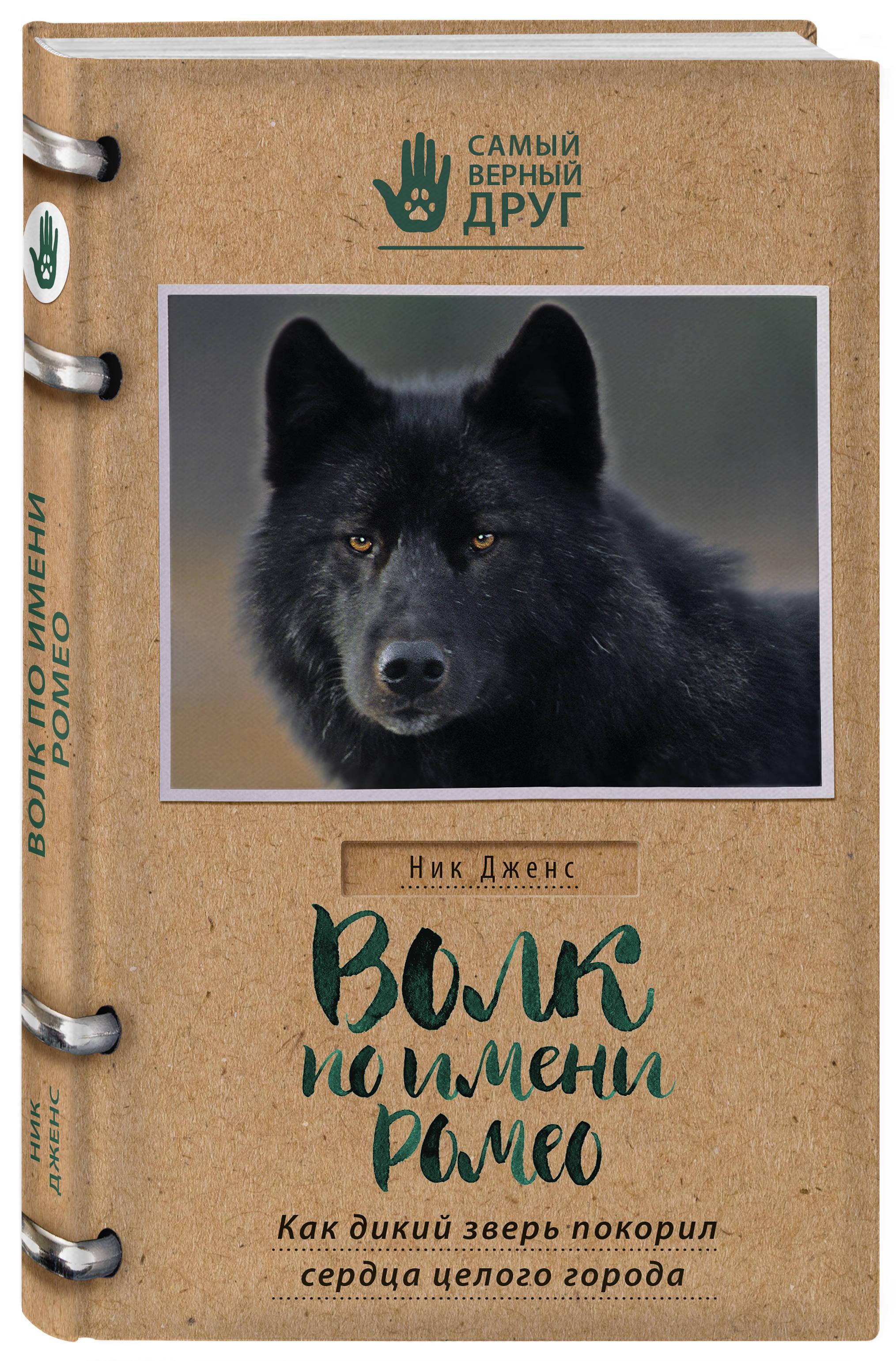 Волк по имени Ромео. Как дикий зверь покорил сердца целого города ( Дженс Н.  )