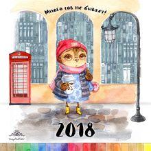Много сов не бывает! Календарь настенный на 2018 год