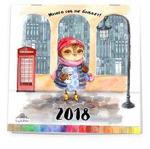 - Много сов не бывает! Календарь настенный на 2018 год обложка книги