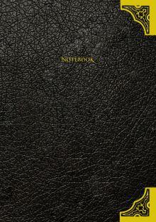 Дневник Тома Реддла (артефакт из фильма, обложка из эко-кожи, металлические уголки)