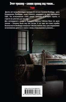 Обложка сзади Короткое падение Мэтью Фитцсиммонс