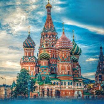 Мозаичные картины. Храм Василия Блаженного - мозаичная картина (404008)