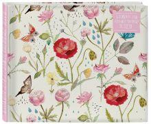 - Блокнот для художественных идей. Розы и маки (твёрдый переплёт, 96 стр., 185х240 мм) обложка книги