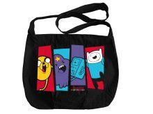 Сумка. Вселенная друзей. Adventure Time (сумка-почтальон) (комплект)