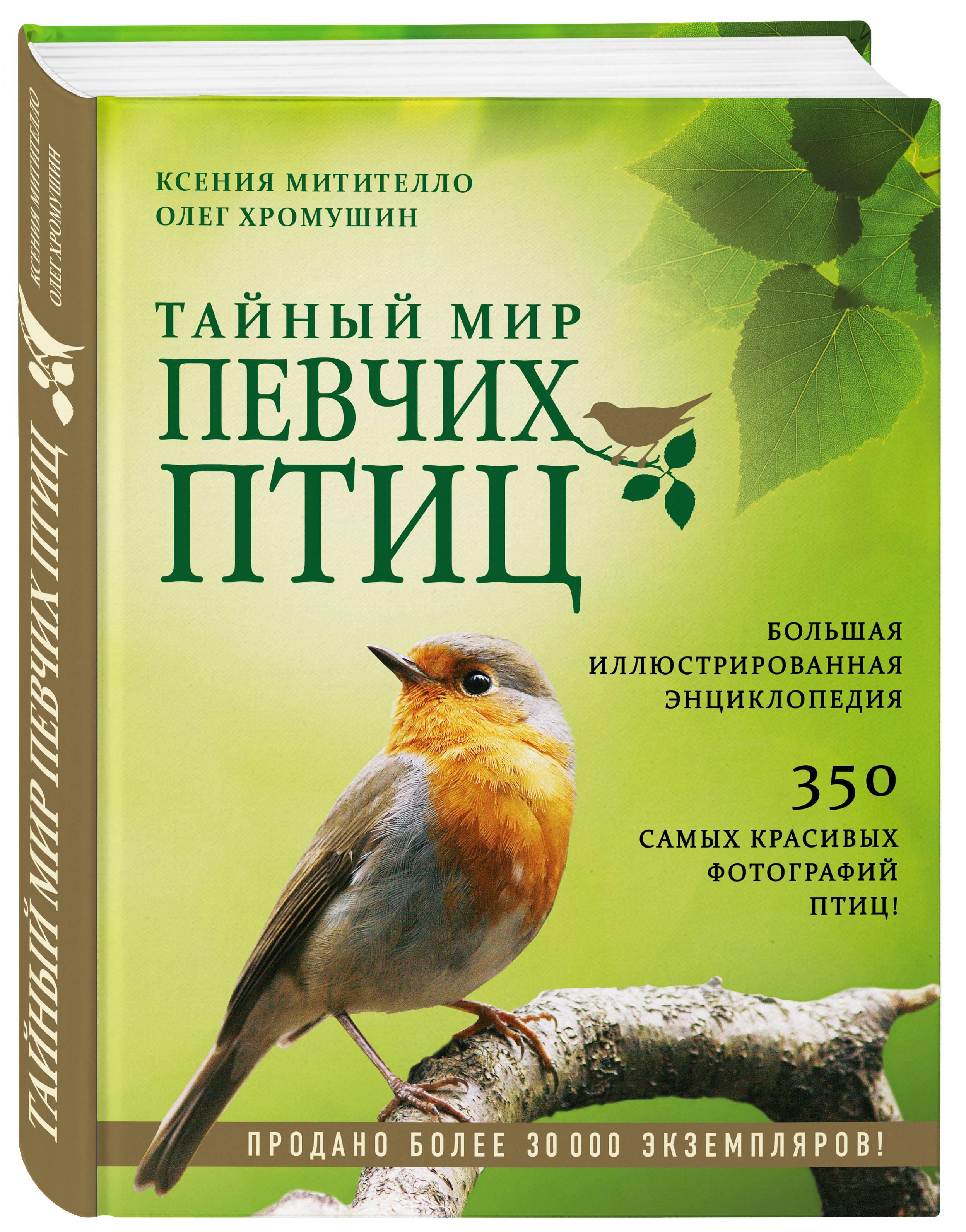 Купить со скидкой Тайный мир певчих птиц. Большая иллюстрированная энциклопедия