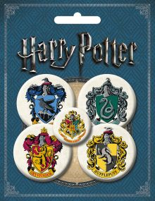Набор значков. Гарри Поттер (5 шт.) (оф.1)