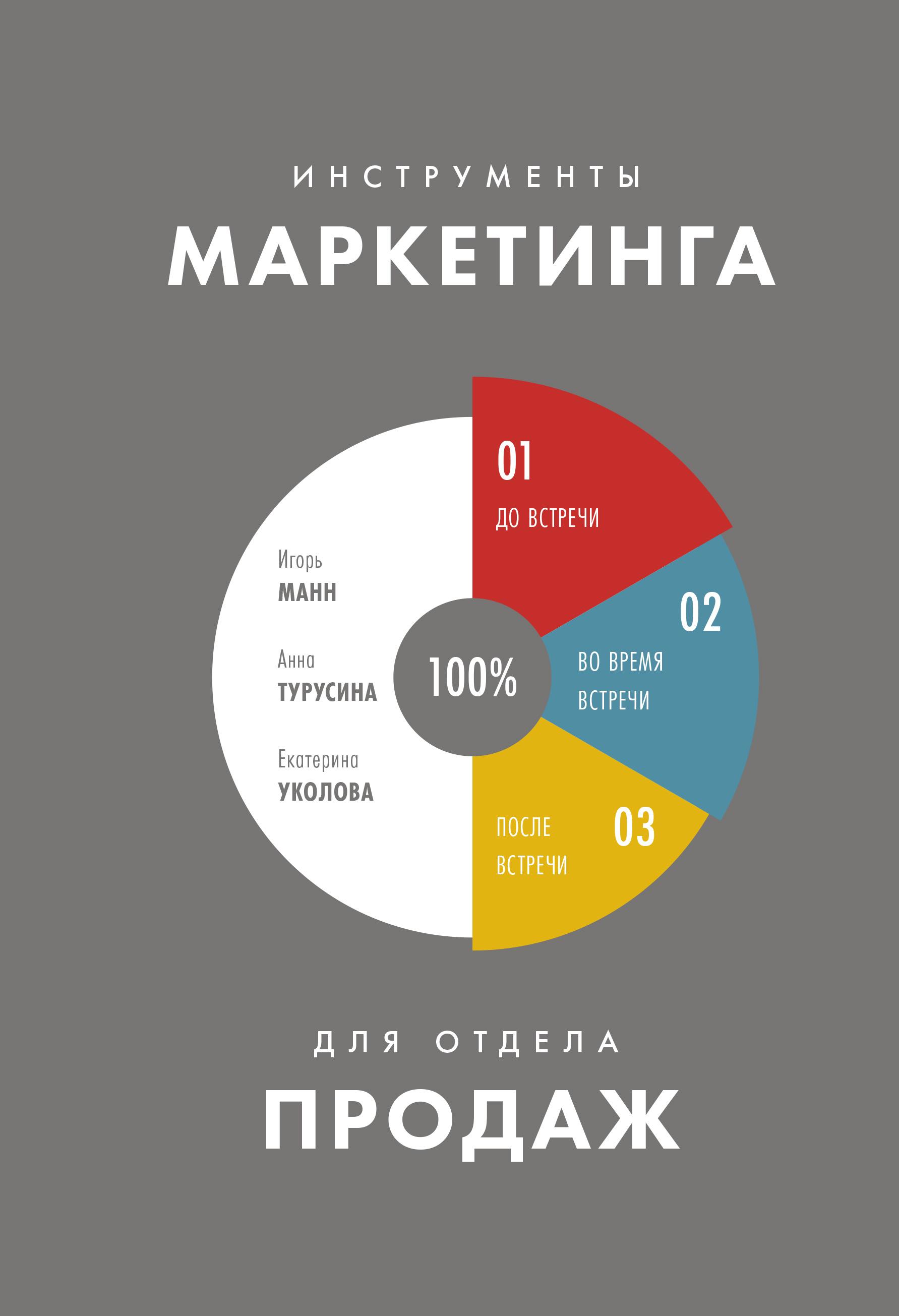 Инструменты маркетинга для отдела продаж ( Игорь Манн; Анна Турусина; Екатерина Уколова  )