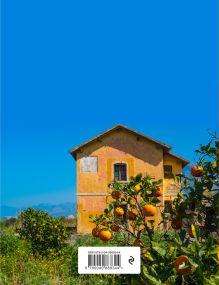 Обложка сзади Книга для записи рецептов. Оранжевая Сицилия