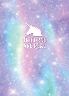Обложка Тетрадь для записей. Unicorns are real, 150х210мм, мягкая обложка, 48 л., клетка-стандарт