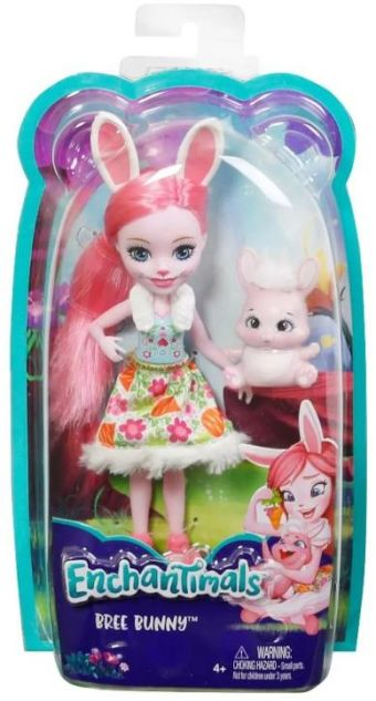 Enchantimals® Кукла с любимой зверюшкой в ассорт. (Базовые куклы)