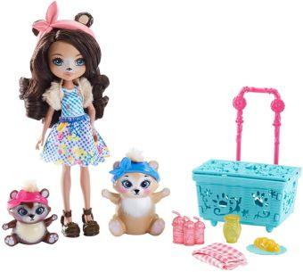Enchantimals® Кукла со зверушкой и тематическим набором в ассорт. (Игровой набор)